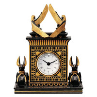 Park Avenue Collection Egyptian Anubis Clock