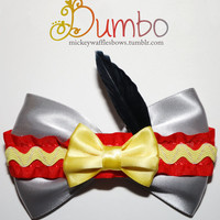 Dumbo Hair Bow by MickeyWaffles on Etsy