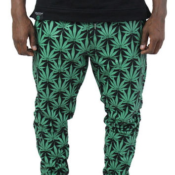Switch Marijuana Weed Men's Jogger Jogging Sweatpants