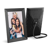 Nixplay Smart Digital Picture Frame 10.1 Inch, Share Moments Instantly via E-Mail or App 10 inch