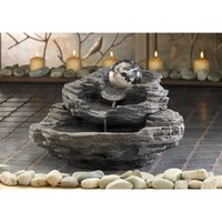 Rock Design Tabletop Water Fountain