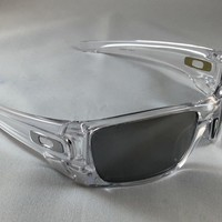 Oakley Fuell Cell Sunglasses - Clear Frame/Silver Lenses