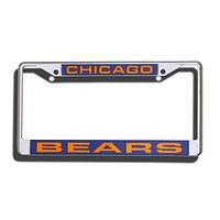 Chicago Bears Laser Cut Chrome License Plate Frame