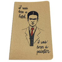 Frida Kahlo Inspired Notebook