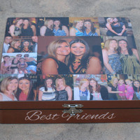 Unique Maid of Honor Gift, Sister Gift, Personalized Keepsake Box, Custom Photo Collage, Unique Birthday Gift, Best Friends Gift
