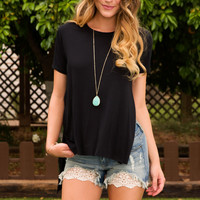 For Willow Top - Black