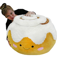 Massive Cinnamon Bun Bean Bag