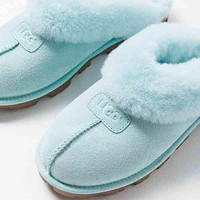 High quality UGG Sells Fashionable And Casual Ladies Pure Velvet Slippers And Sandals