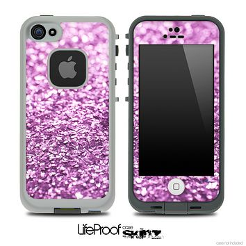 Glimmer Light Purple Skin for the iPhone 5 or 4/4s LifeProof Case