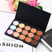 Makeup Concealer Palette Face Contour 15 Colors Party Professional Cream Set Kit