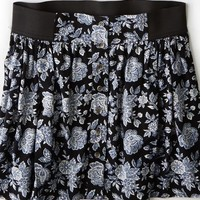 AEO 's Button Front Skirt