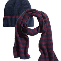 Hat and scarf - from H&M