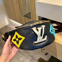 LV Louis Vuitton Fashion Leather Belt Bag Shoulder Bag Shoulder Bag