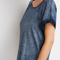 Life in Progress Marled Raglan Tee