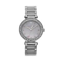 Juicy Couture Women's Victoria Stainless Steel Watch (Grey)