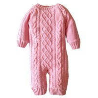 Baby Thickening clothes rompers newborn rompers Autumn and Winter Warm Soft Romper Kids Cotton Fashion Climb Clothes
