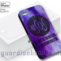 Purple Galaxy Nebula 5sos Design