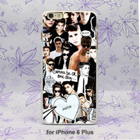 justin bieber edit Omg Pattern hard White Skin Case Cover for iPhone 4 4s 4g 5 5s 5c 6 6s 6 Plus