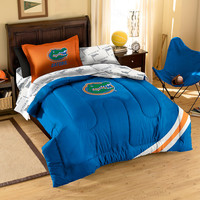 Florida Gators NCAA Bed in a Bag (Contrast Series)(Full)