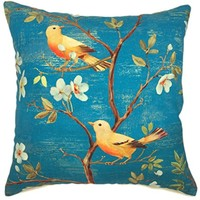 Buy YOUR SMILE Oil Painting Apricot Flower Decorative Throw Pillows Case Cushion Covers Shell Cotton Linen Blend 18... by Shopsexactly on Dot & Bo