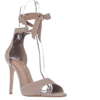 Aldo Belidda Lace Up Ankle Strap Sandals - Beige
