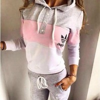 NEW WOMEN'S SPORTSUITS 2PIECES JOGGING SUIT TRACKSUITS