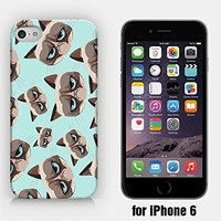 for iPhone 6 - Grumpy Cat Pattern - Angry Cat - Hipster - Ship from Vietnam - US Registered Brand
