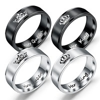 Fashion Stainless Steel Couple Rings 86