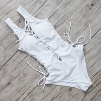 Sets Sexy Women Swimwear One Piece Push Up Bandage Monokini Beach Bathing Suits Swimsuits Solid Bodysuits Maillot De Bain