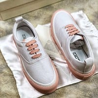 18ss Celine Celine 180 Lace Up Canvas Sneakers 1