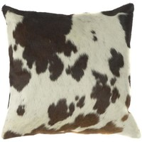 Cow Print Pillow - Throws And Pillows - Home Accents - Home Decor   HomeDecorators.com