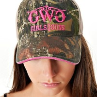 Classic MO Trucker Hat - Pink | Girls with Guns Clothing