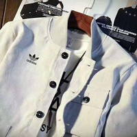 """Adidas"" Fashion  Cardigan Jacket Coat Sweatshirt I-MLDWX"