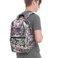 Neon Cats Backpack