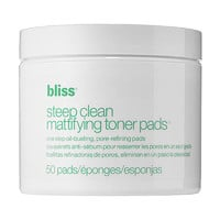 Bliss Steep Clean Mattifying Toner Pads (50 Pads)