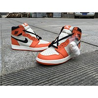 "Air Jordan 1 ""Reverse Shattered Backboard"" Basketball Shoes 36-47"