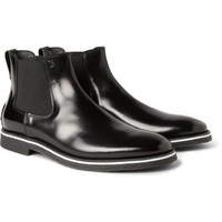 Tod's No_Code Crepe-Sole Leather Chelsea Boots   MR PORTER
