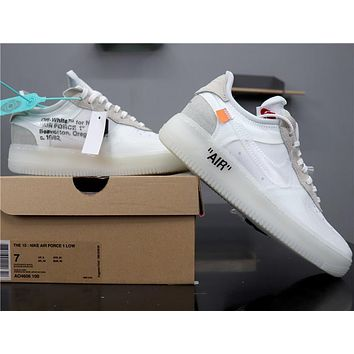 Air Force 1 Low x OW AO4606-100 White
