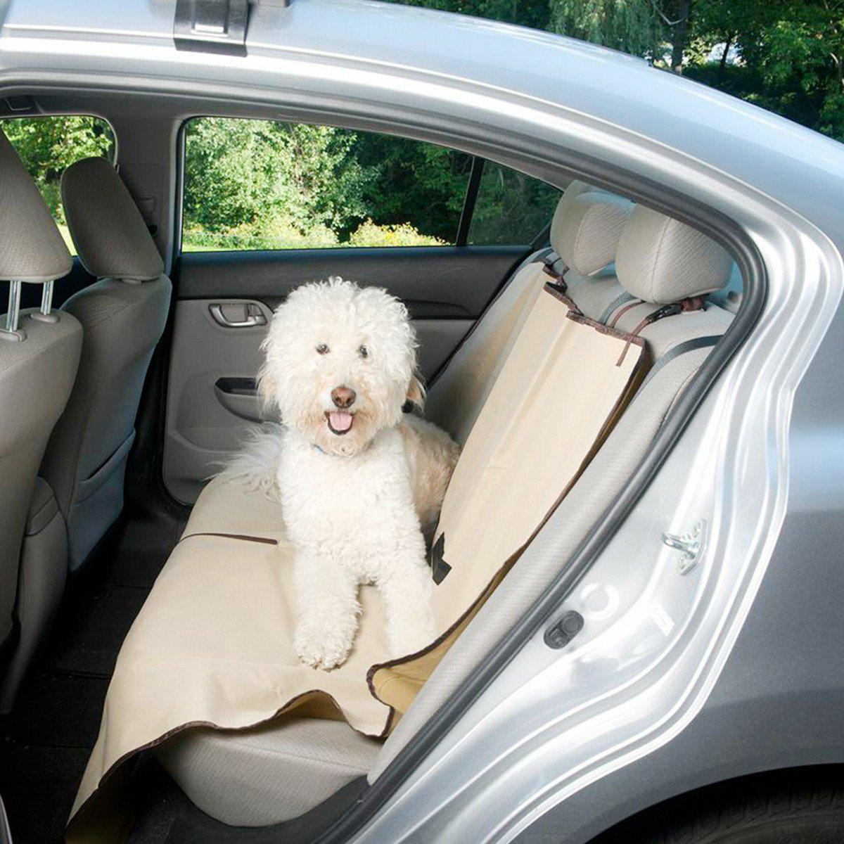Image of Evelots Pet Seat Cover Auto Back Rear Seat Barrier,Waterproof Car Seat Cover