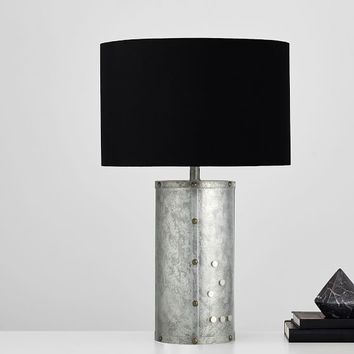 Galvanized Magnetic Table Lamp