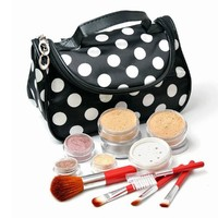 IQ Natural 12pc XL Mineral Makeup Set with Cosmetic Bag!