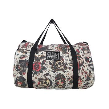 Liquorbrand Flash Americana Tattoo Oversized Duffel Bag