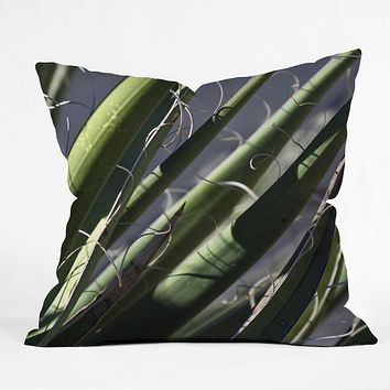 Lisa Argyropoulos Wiry Yucca Outdoor Throw Pillow