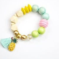 Pineapple Child's Bracelet