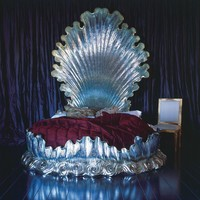 And So To Bed - Versailles Bed available in Gold or Silver leaf