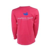 Palmetto Moon | Southern Marsh Collegiate Authentic Long Sleeve T-Shirt