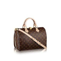 DCCKV3S Louis Vuitton Monogram Canvas Speedy Bandouliere 30 M41112  Louis Vuitton Handbag