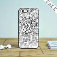Panic At The Disco Lyric 3 Cover iPhone 4  4S Case