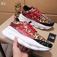Versace 2018 autumn and winter new thick-soled old shoes sports fashion casual shoes #2