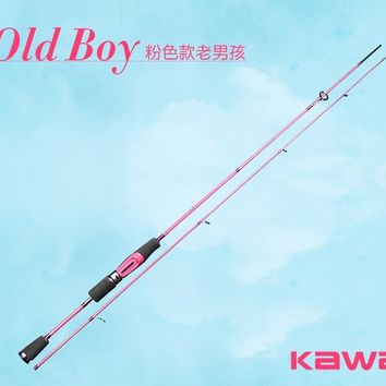 KAWA New Rod Hello Kitty, Super Light, Super Soft Rod, Pink Color, Suitable to Ladys, High Quality and Classical rod
